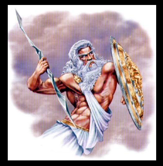 Como se llama el dios griego del trueno