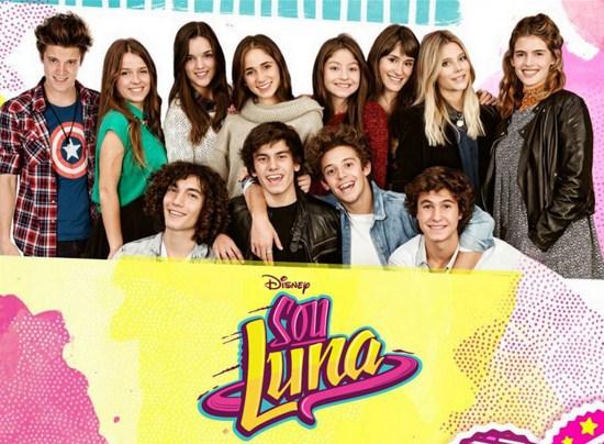 Como se llaman los personajes de Soy Luna