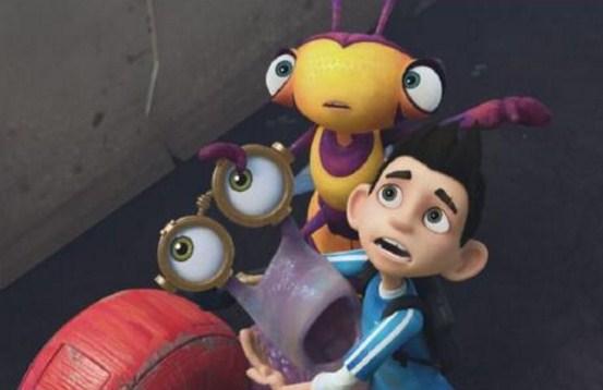 Como se llaman los personajes de Super insectos