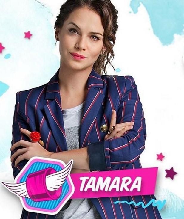 Como se llama la actriz que hace de Tamara en Soy Luna