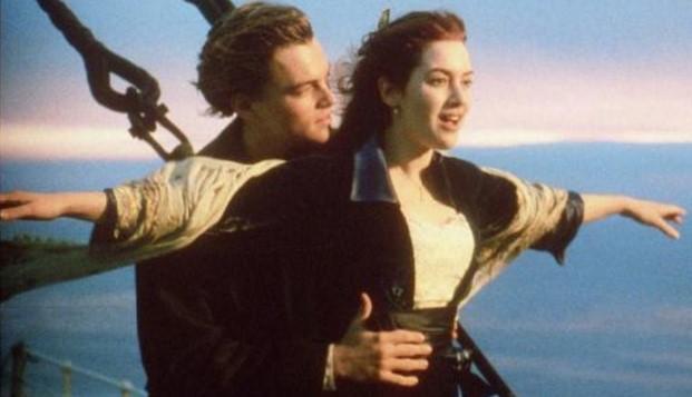 Como se llaman los protagonistas de Titanic
