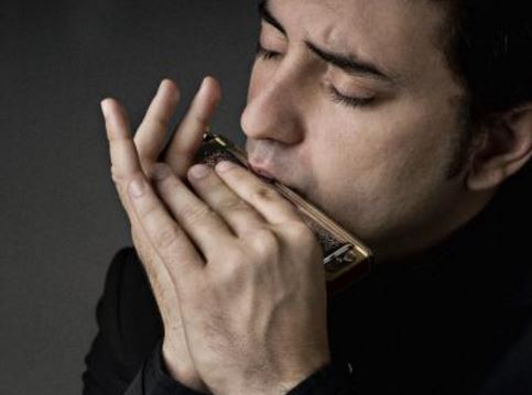 Como se llama el que toca la armonica