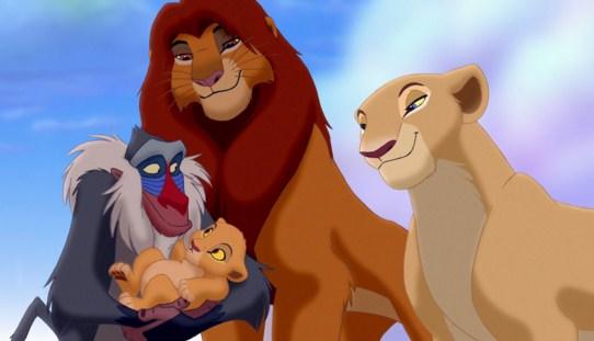 Como se llama la hija del Rey Leon
