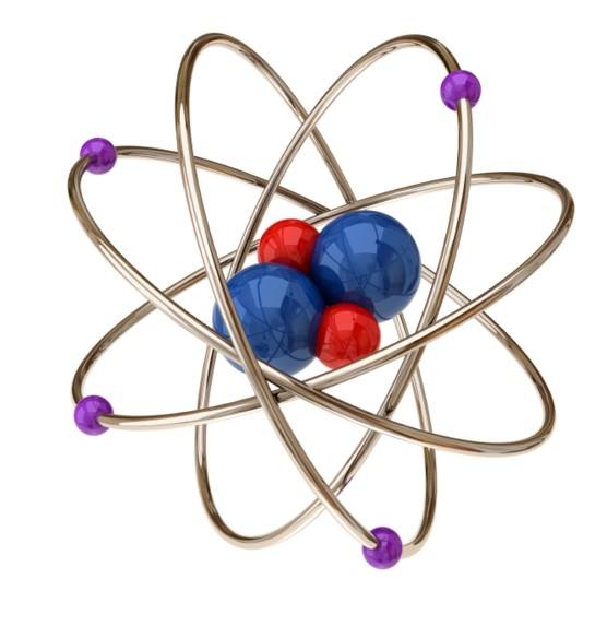 Como se llaman las partes de un átomo