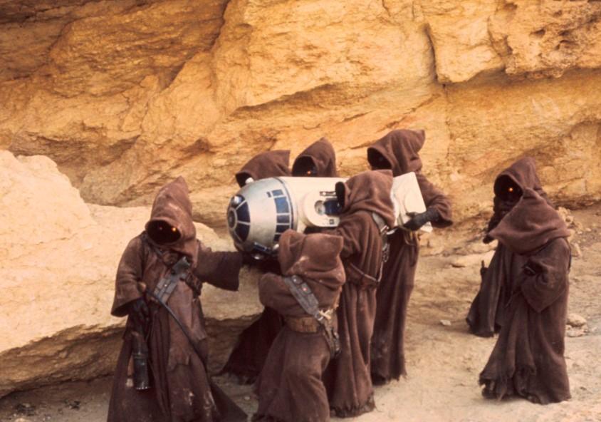 Como se llaman los chatarreros de Star Wars