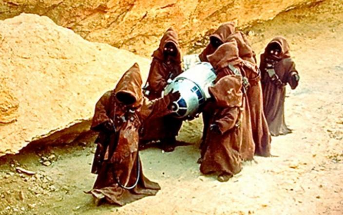 chatarreros de Star Wars