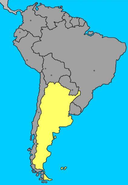 Como se llama el continente de Argentina