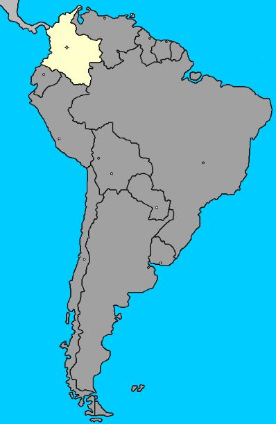 Como se llama el continente de Colombia