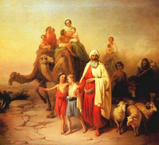 Como se llama el primer hijo de Abraham