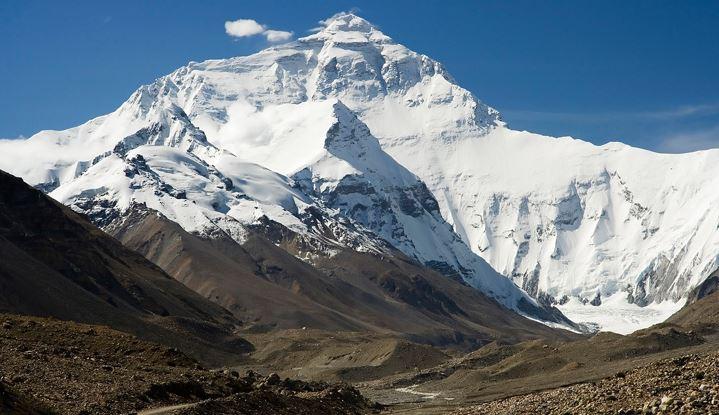Nombre de un conjunto de montañas unidas entre si