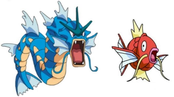 Como se llama es la evolucion de magikarp