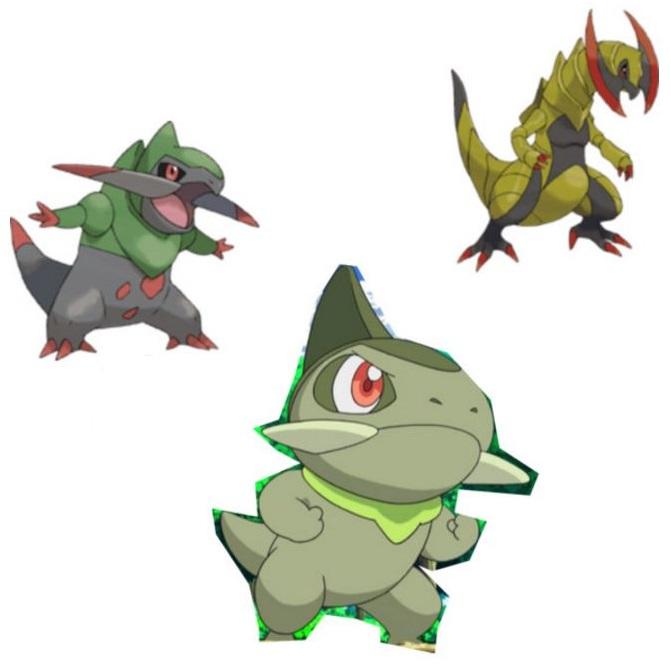 Como se llama la evolucion de axew