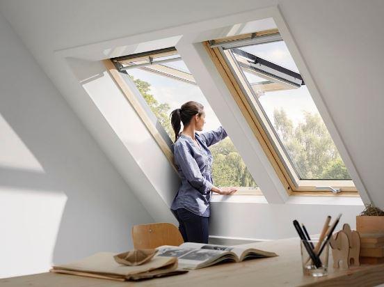 Como se llaman las ventanas en el techo