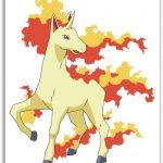 Como se llama la evolución de ponyta
