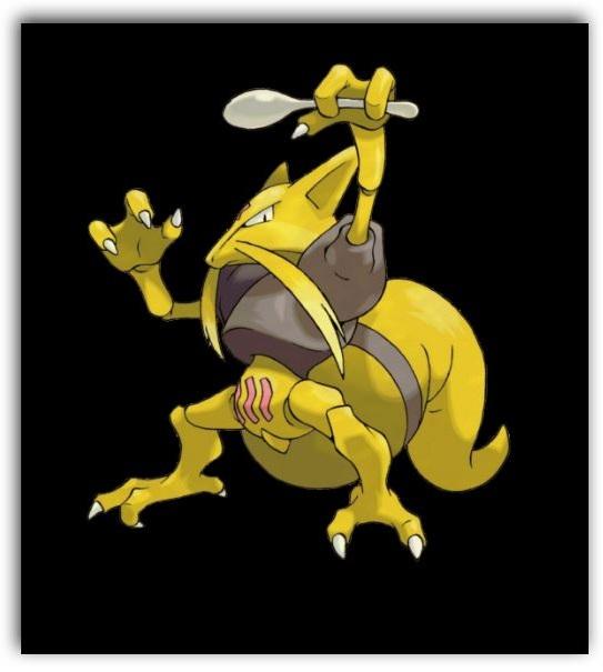 Cómo se llama la evolución de kadabra