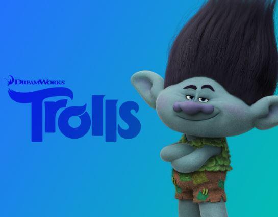Como se llama el troll azul