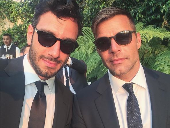 Como se llama el nuevo novio de Ricky Martin