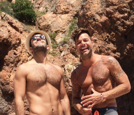 Quien es el novio de Ricky Martin