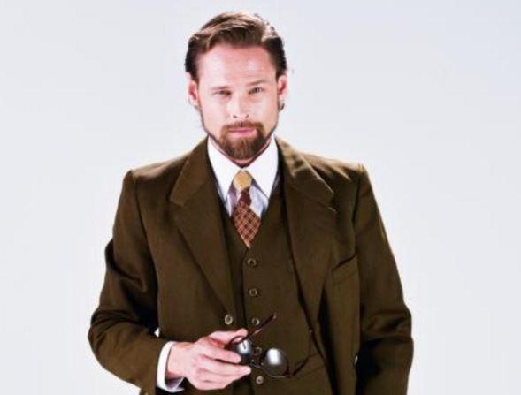 Mario Guerci como el señor Sesemann