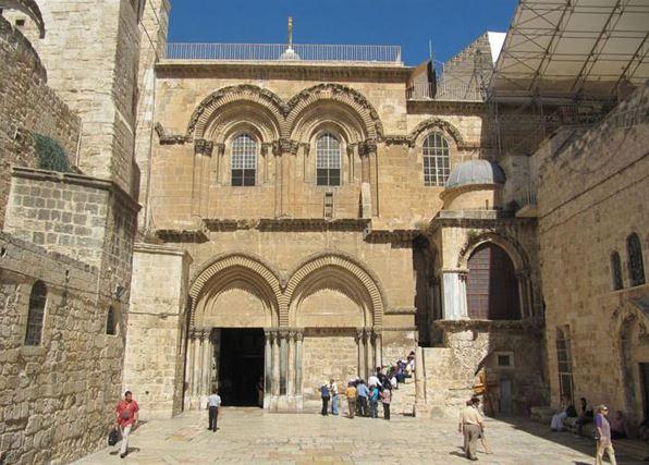 Como se llama el lugar donde sepultaron a Jesus