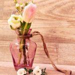 Como se llama el recipiente donde se ponen las flores