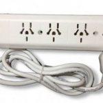 Como se llama la pieza que se coloca en una toma de corriente para conectar varios aparatos a la vez